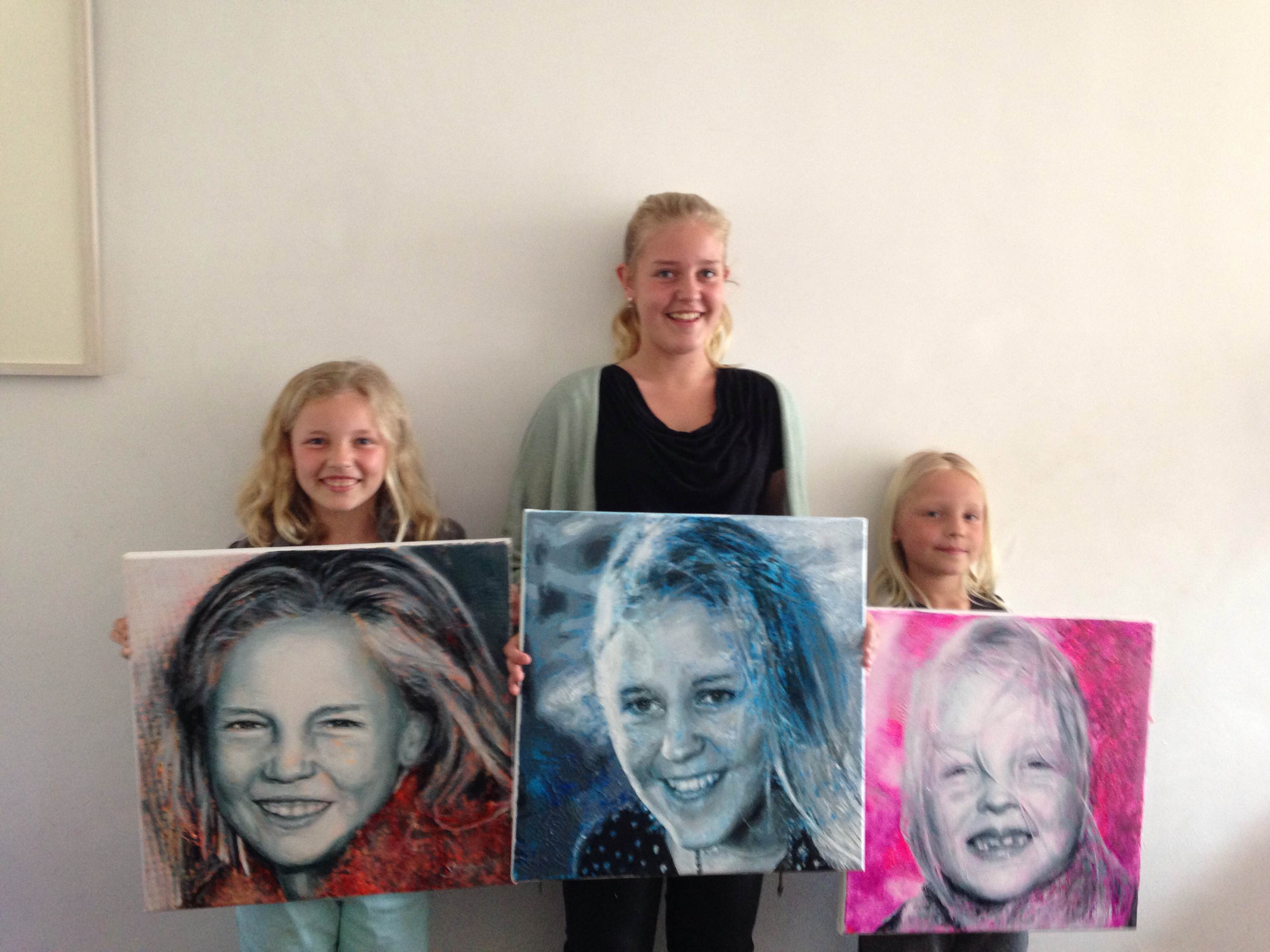 Evy, Anne & Ize