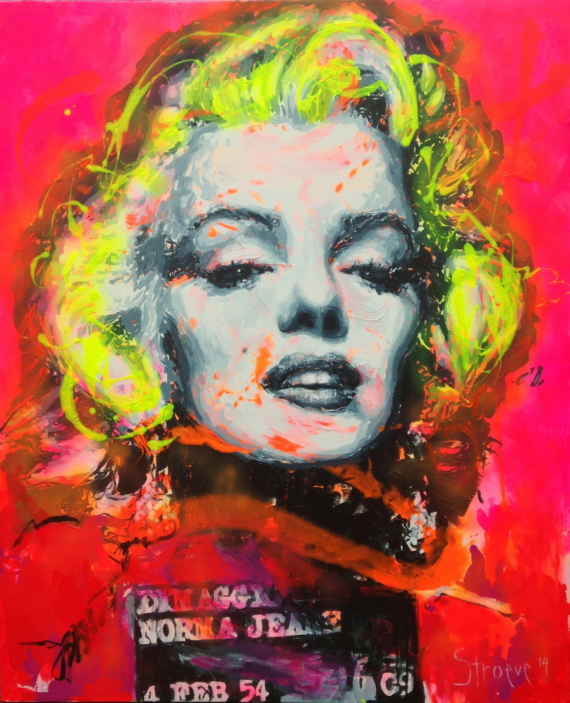 Marilyn, give me a smile!